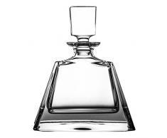 Crystaljulia 02120 Karaffe, Kristall, 700ml, 18 x 9, 5 x 22 cm