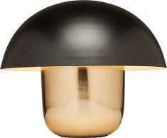 Kare Tischleuchte Mushrooms, 60199, Schwarz - Kupfer Stehleuchte, moderne Leuchte, Design Nachttischlampe in Pilzform, (HxBxT) 44x50x50cm