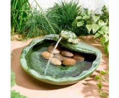 Solar-Brunnen Frosch