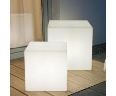 Solar-LED-Leuchte Shining Cube, 43 cm