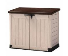 Store It Out Max Aufbewahrungsbox, beige Holzoptik