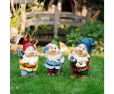 Gartenzwerg-Trio