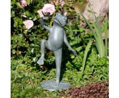 Gartenfigur Tanzender Froschkönig Franz