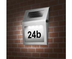 EASYmaxx Solar-Leuchte Hausnummer