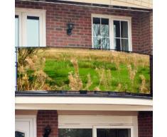 Balkon-Sichtschutz, Idyll