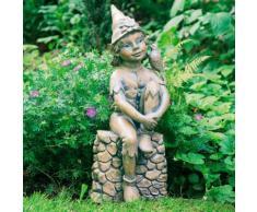 Gartenfigur Waldelfe Birdie