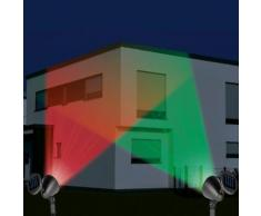 Solar-Strahler LED Multi-Color 2er-Set