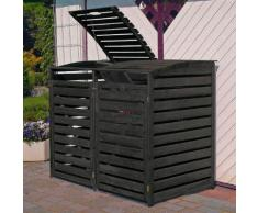 Mülltonnenbox Vario III für 2 Tonnen, anthrazit