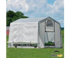 ShelterLogic Folien-Gewächshaus 9m² inkl. Sturmanker