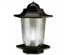 Gartenlampe mit Insektenschutz-Grün