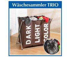 """Wäschesammler Trio """"Braun"""""""