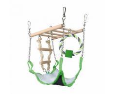 Trixie Hängebrücke mit Hängematte