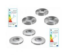 LIVARNO LUX® 3 LED-Einbauleuchten (IP44)