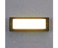 Energiesparende LED-Außenwandleuchte Rachel