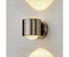 Effektvolle LED-Außenwandleuchte Lydia, 2-fl.
