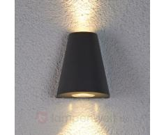 Doppelt strahlende LED-Außenleuchte Aleyna