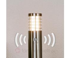 Moderne LED-Wegeleuchte Dila mit Bewegungssensor