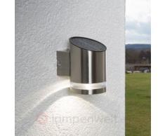 LED-Solarleuchte Salma für die Wandanbringung