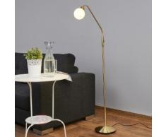 Elaina - LED-Leselampe in Messing