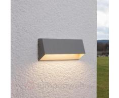 4-flammige LED-Außenwandleuchte Hanno, silber