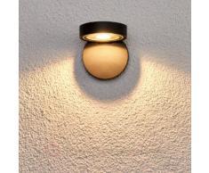 Runder LED-Wandstrahler Alijana für außen