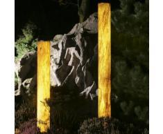 Epstein-Design Sahara Turm Bodenleuchte für Leuchtstofflampe, 159 cm
