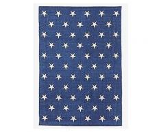 VERTBAUDET Kinderzimmerteppich mit Sternen blau/sterne
