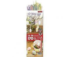Karen-Marie 3D-Quillingset Mini-Ostereier, pastell, für 24 - 36 Ostereier