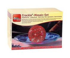 Crackle-Mosaik-Set Leuchtkugel