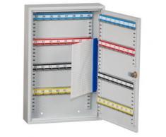 QUIPO Schlüsselschrank - 64 Haken, HxBxT 450 x