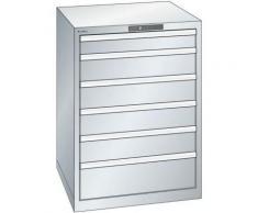 Lista Schubladenschrank, Stahlblech - HxB 1000 x 717