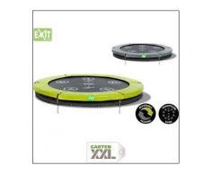 Twist Ground Trampolin 366, Exit, Grau, Durchmesser: 366 cm