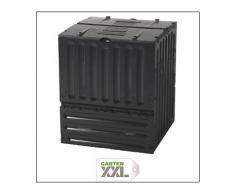 ECO-King Komposter 600 L schwarz, Garantia, Schwarz