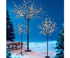Walzvital Baum mit LED Ballkugeln, 120 cm