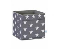 Store It Ordnungsbox in Grau/ Weiß - (B)30 x (H)30 x (T)30 cm | Größe onesize