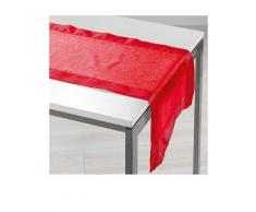 Douceur d'Intérieur Tischläufer in Rot | Größe 40x140 cm