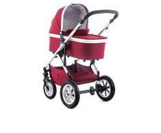 Kombi-Kinderwagen in Rot