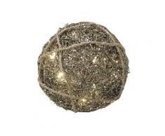 Nordlux LED-Dekokugel in gold - Ø 25 cm | Größe onesize