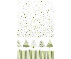 Graphische Weihnachtsbaum Papier Tischdecke Einheitsgröße