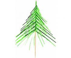 12 Weihnachtsbaum-Spieße Einheitsgröße