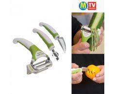 3-in-1-Triple Slicer Multifunktions-Küchenhelfer