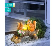 LED-Solarleuchte Eichhörnchen