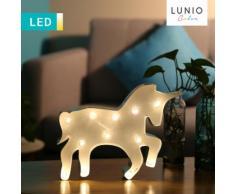 LED-Dekoleuchte Galoppierendes Einhorn