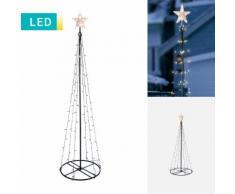 LED-Lichterbaum mit Stern
