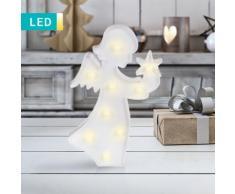LED-Dekoleuchte Engel mit Stern