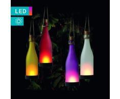 Solarlampe im Flaschen-Design