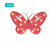 LED-Dekoleuchte Schmetterling