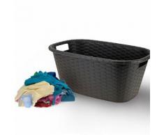 Wäschekorb in Bast-Optik