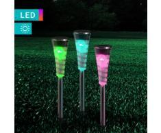 Solarlampe mit Farbwechsel
