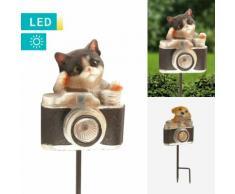 Solarlampe Kamera mit Tier